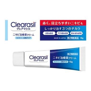 クレアラシル ニキビ治療薬クリーム 白色タイプ